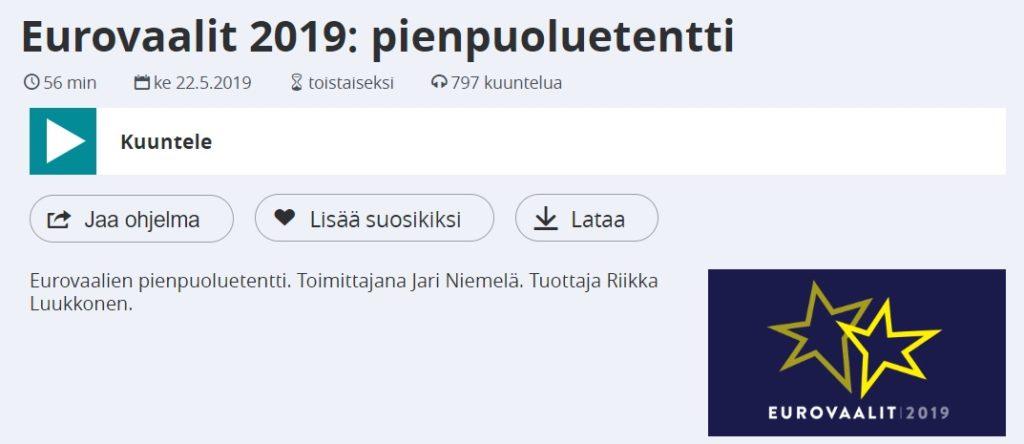 Pienpuoluetentti 2021