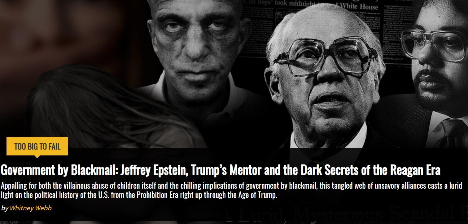 Epstein pedoscandal Mossad-timeline – Laiton Lehti?